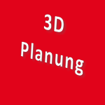 Icon 3 D Planung